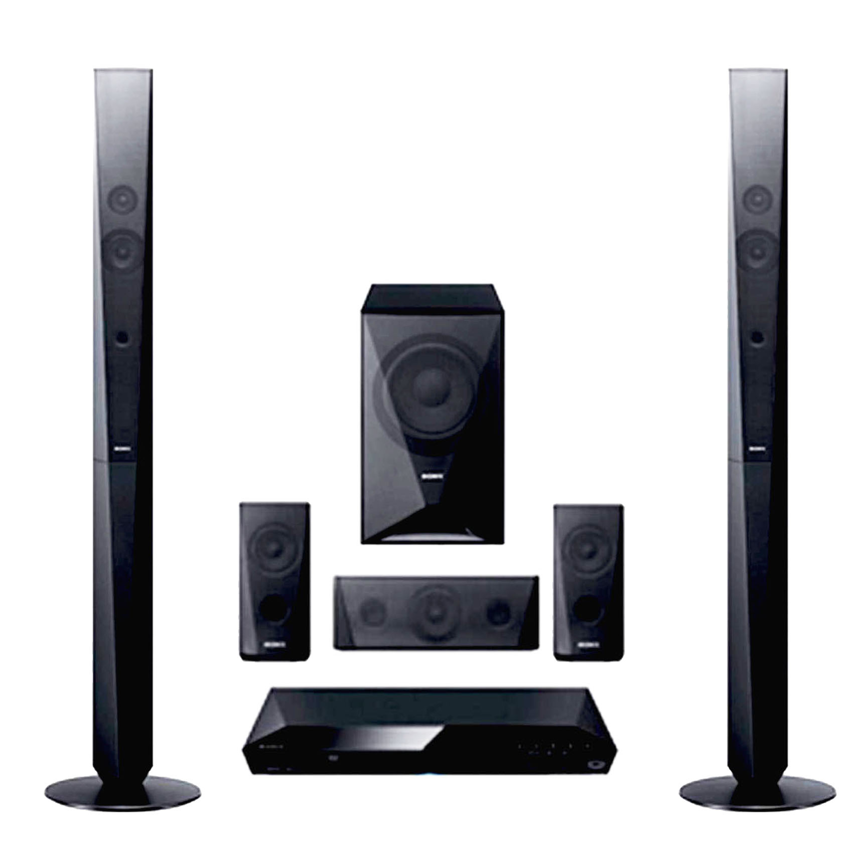 Sony-1000W-2-Tall-Boy-Home-Cinema-System-DZ-6505