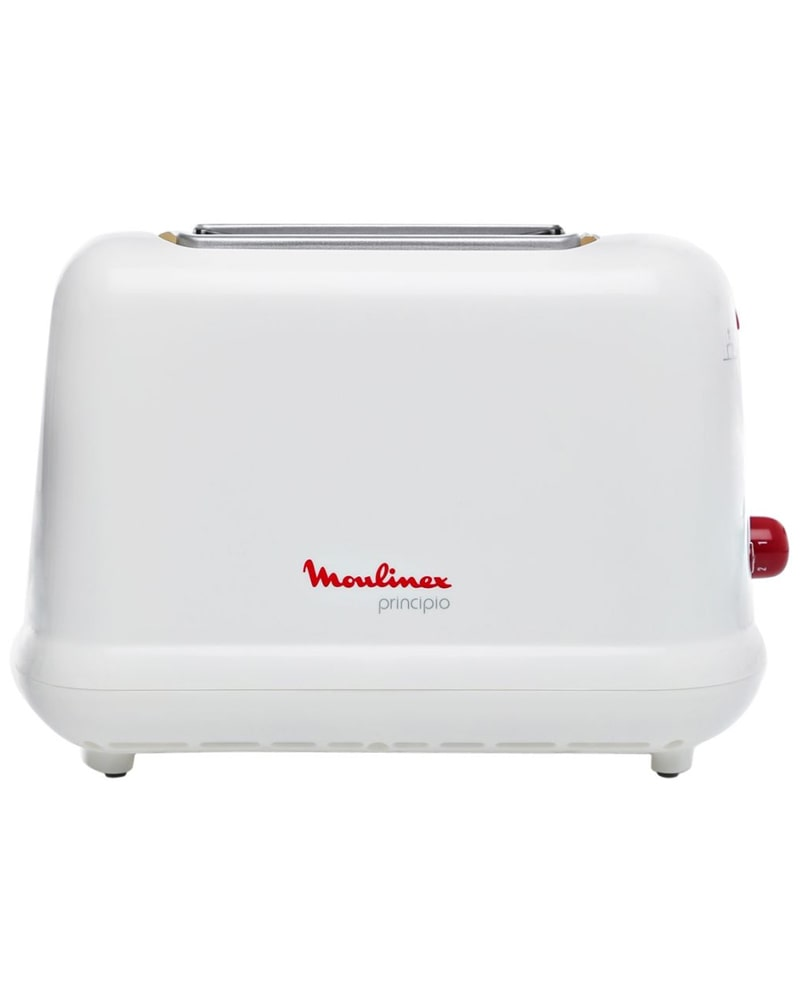 LT1601 – MOULINEX TOASTER (GRILLE PAIN PRINCIPIO 3) LT1601 WHITE OR RED