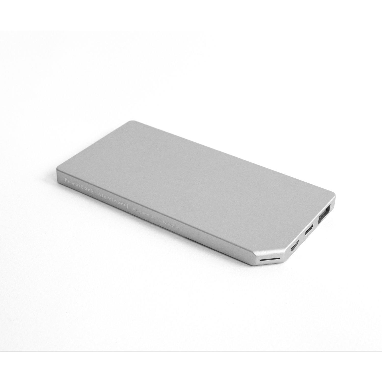 ETEALSlimG – Allocacoc PowerBank Slim Aluminium 5000mAh Grey