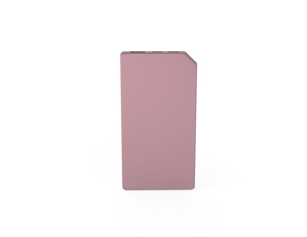 ETEALSlimP – Allocacoc PowerBank Slim Aluminium 5000mAh Pink