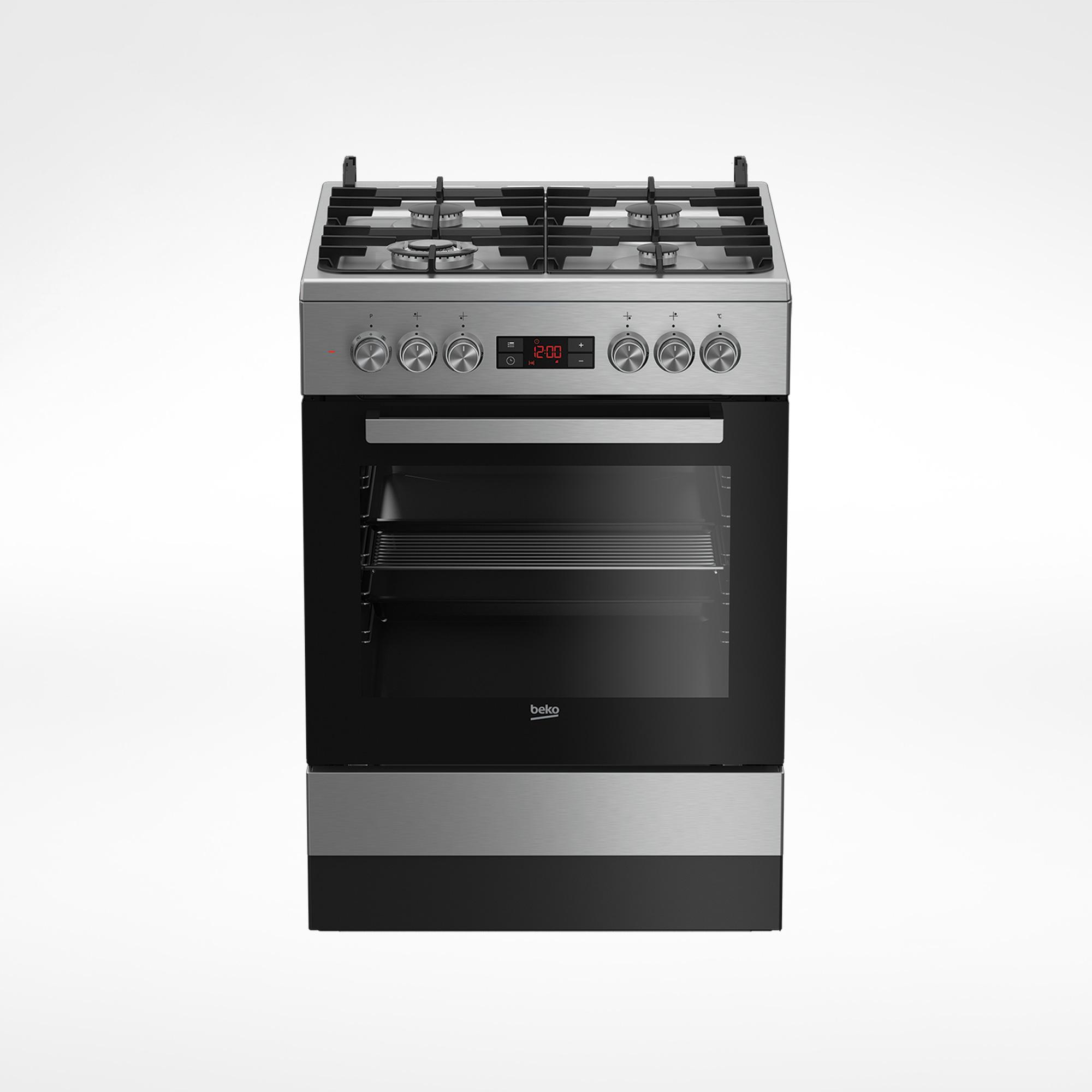 FSM61330DXDS – BEKO Freestanding Cooker